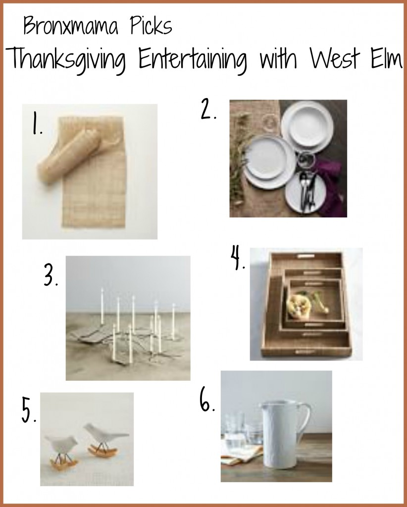 Thanksgiving Entertaining Must Haves