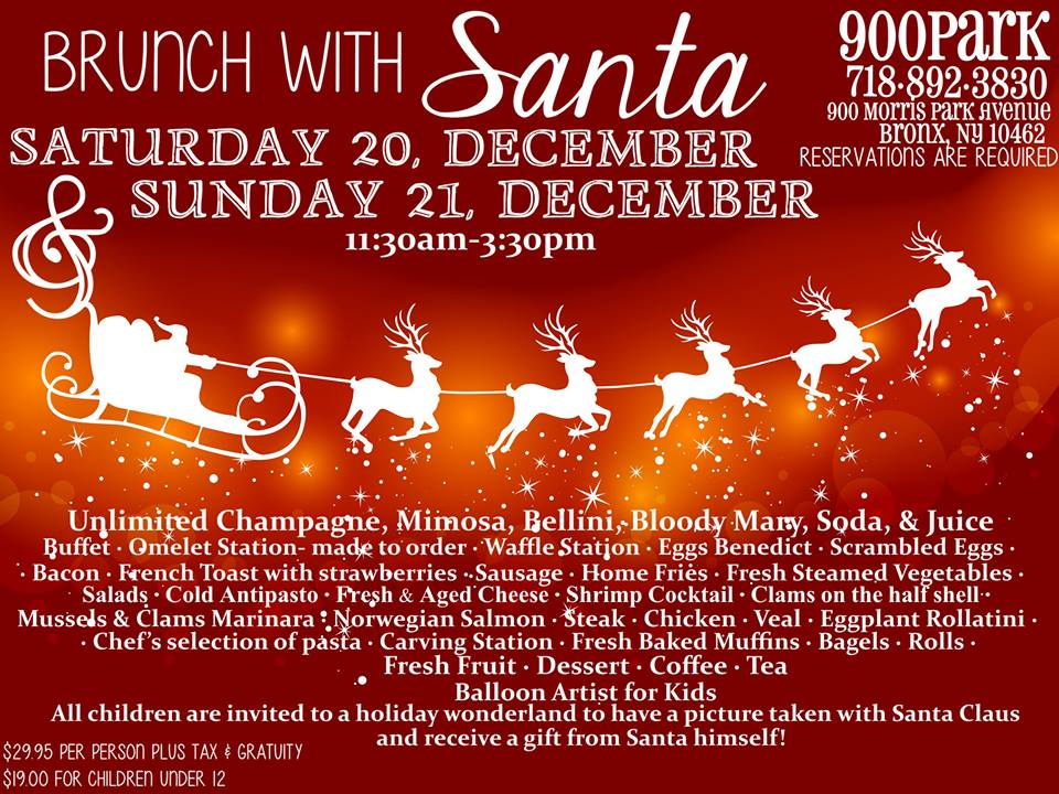 Brunch  with Santa at 900 Park