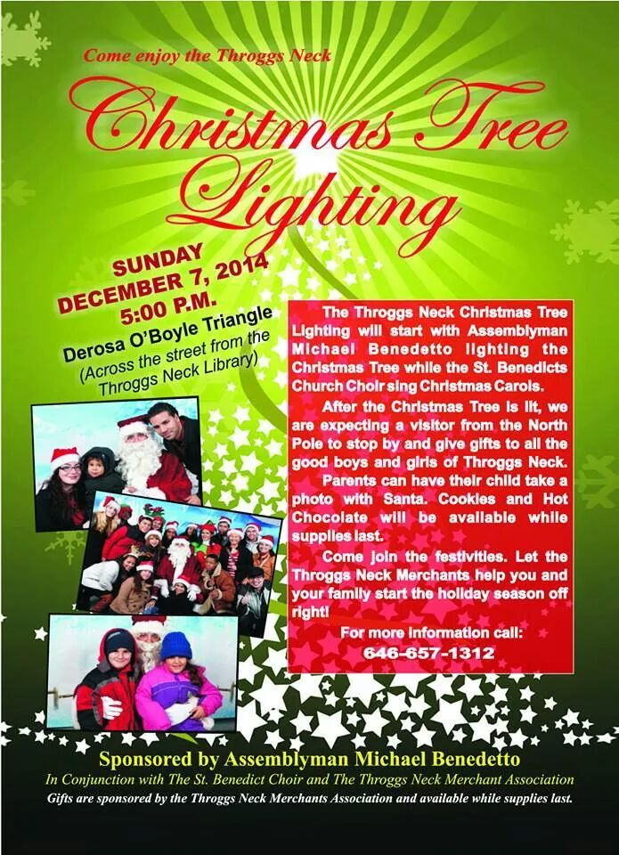 Throggs Neck Tree Lighting