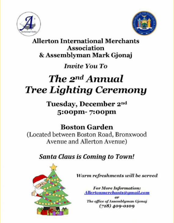 2nd Annual Tree Lighting