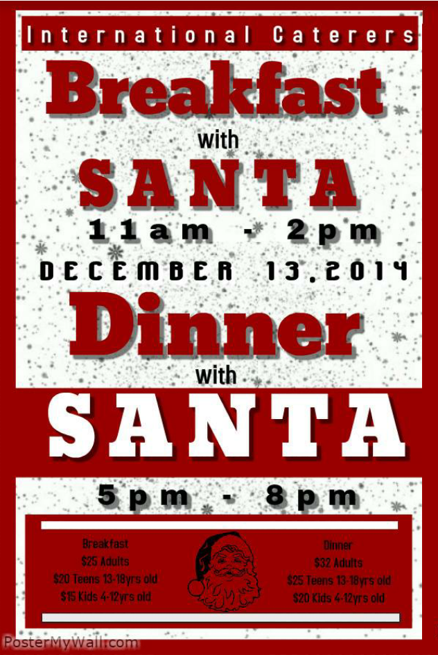 Breakfast/Dinner with Santa
