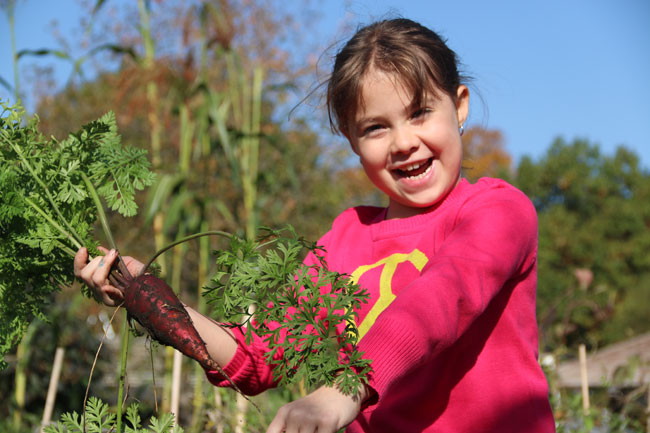Children's Gardening Program Registration