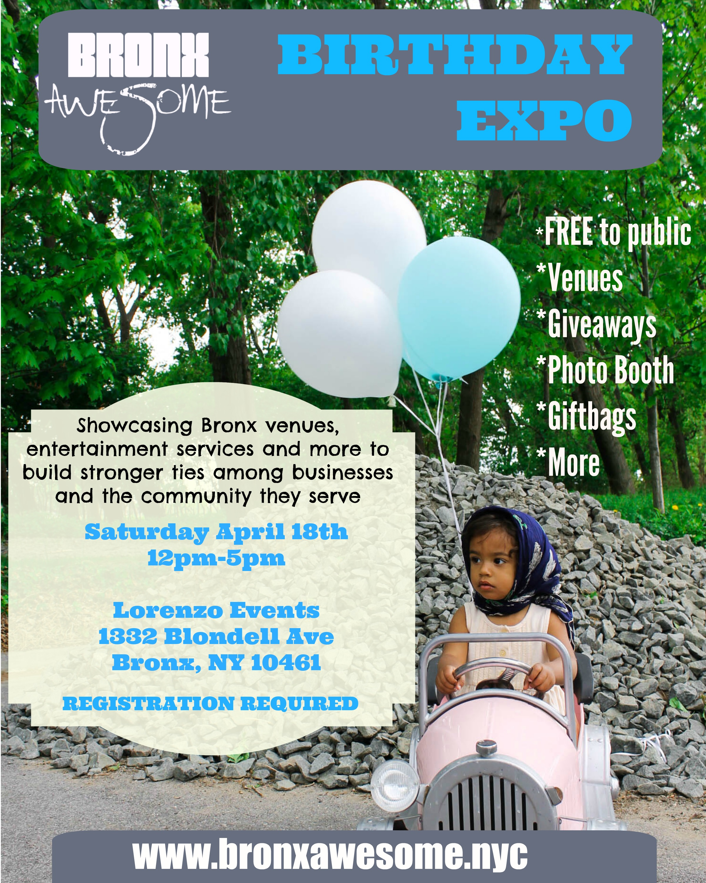 Bronx Awesome Birthday Expo
