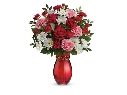 Giveaway: Valentines Day Bouquet from Teleflora