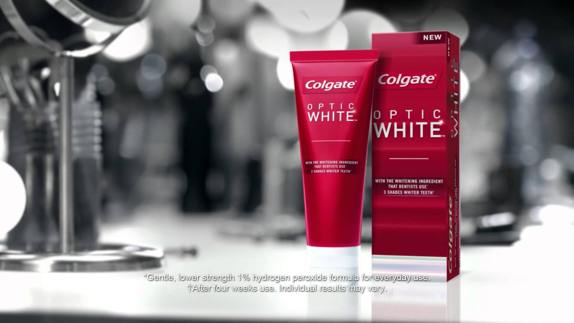 On the Bright Side with Colgate Optic White
