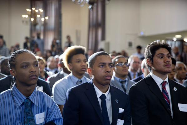 President Obama Visits the Bronx to Launch My Brother's Keeper Alliance