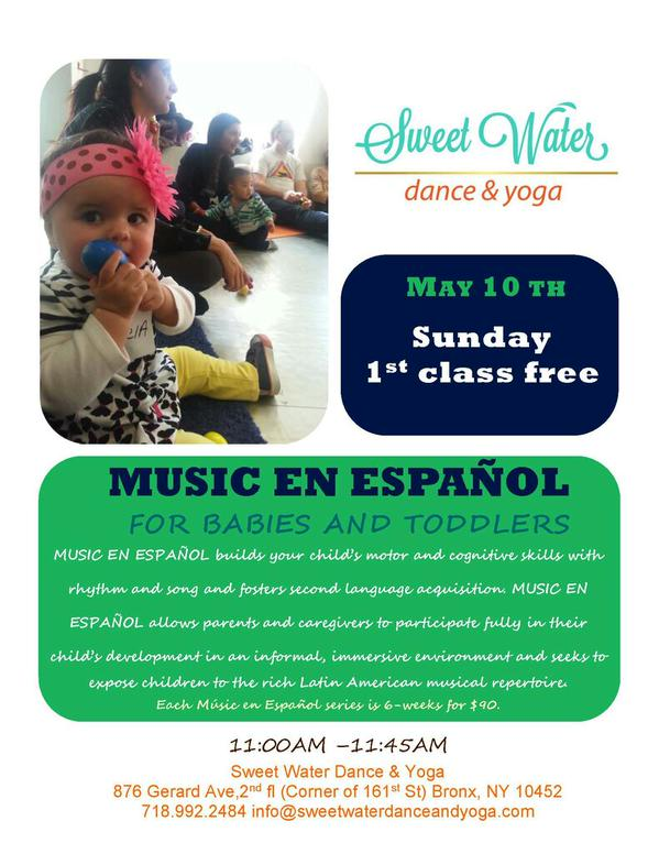 Music En Español at Sweet Water Dance & Yoga