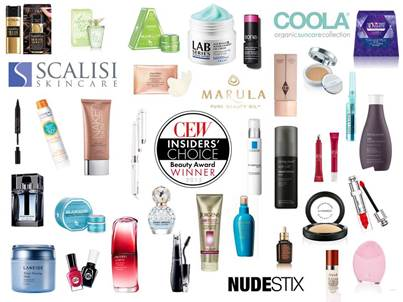 CEW Insiders' Choice Beauty Awards Winners + Beauty Guide
