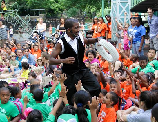 SummerStage Kids in the Bronx