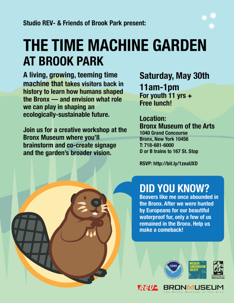 FREE Youth Workshop: The Time Machine Garden