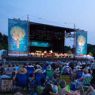 NY Philharmonic Concert + Fireworks in Van Cortlandt Park