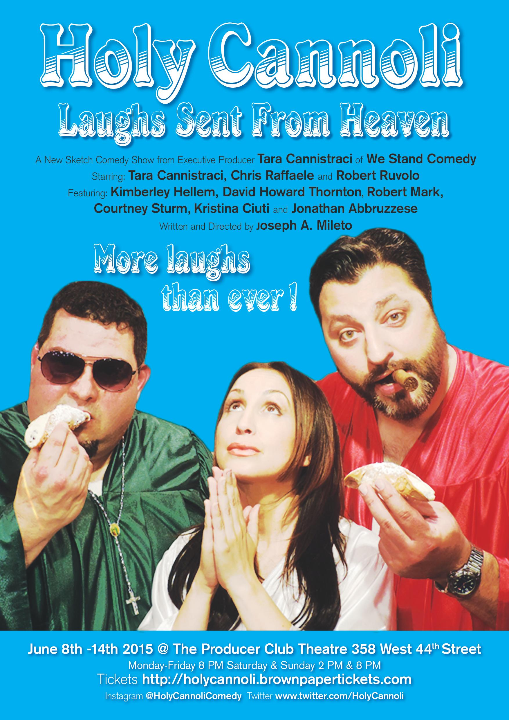 Holy Cannoli Sketch Comedy Show