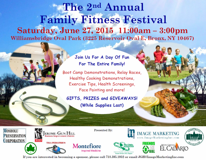 Second Annual Family Fitness Festival