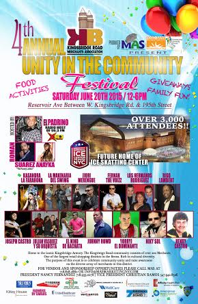 The 4th Annual Unity In The Community Festival!