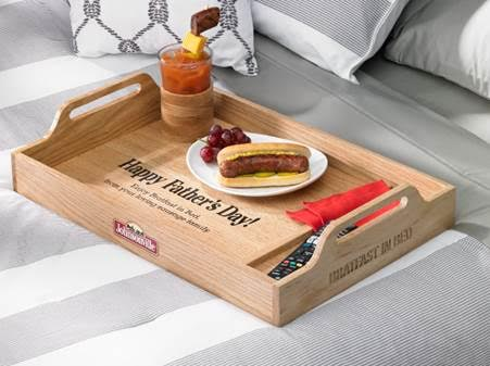 Bratfast in Bed with Johnsonville