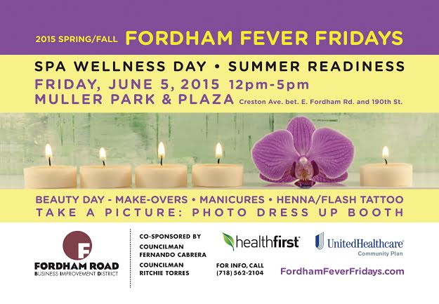 Fordham Fever Fridays 2015: Spa & Wellness Day