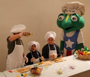 Kids Cooking for a Brighter Future in the Bronx