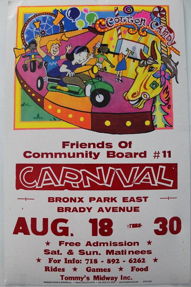 Friends of Community Board #11 Carnival