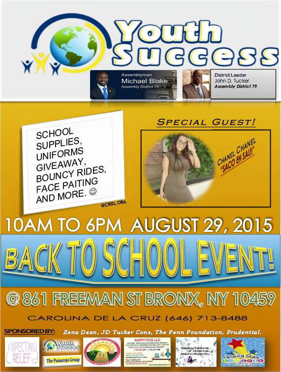 Youth Success Back to School Event