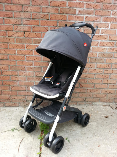 """See For Yourself: The GB Qbit """"Go Anywhere"""" Stroller"""