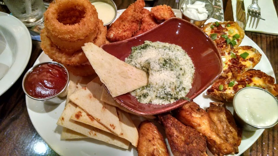 The Jumbo Combo had a great mix of everyone's favorite appetizers