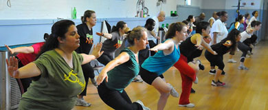 SHAPE UP NYC FITNESS INSTRUCTOR TRAINING PROGRAM