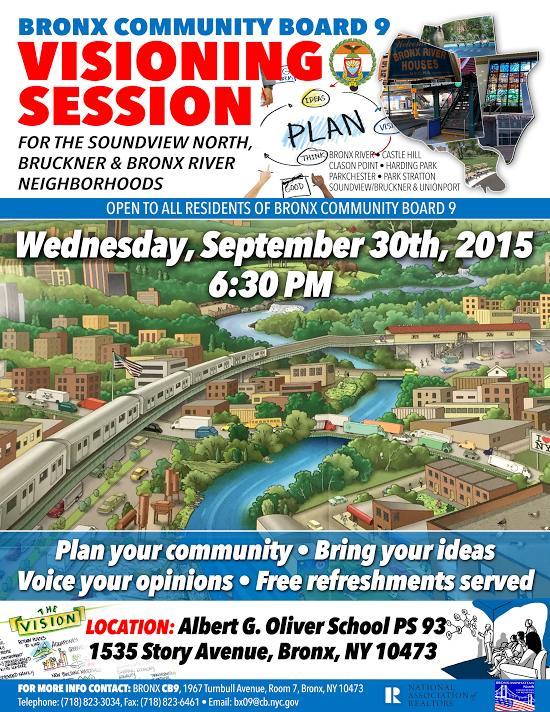 Bronx Community Board 9 Visioning Session