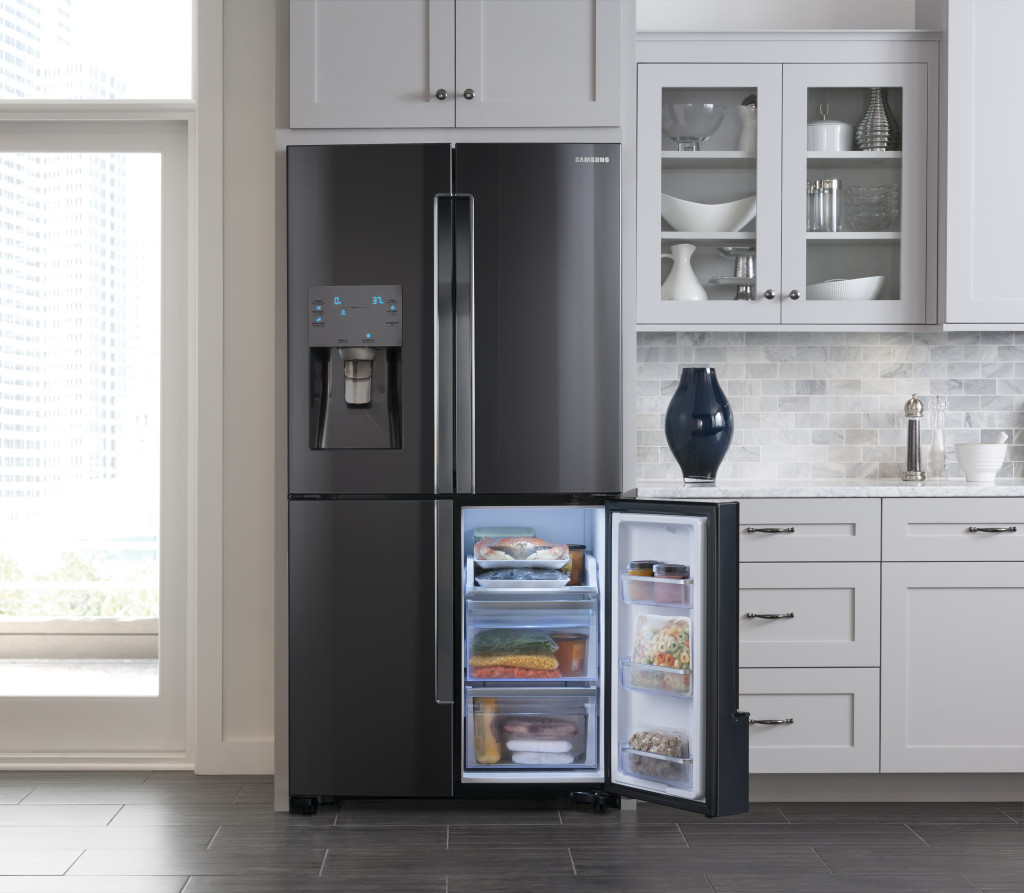 Kitchen Pictures With Black Stainless Steel Appliances: Samsung Reveals New Black Stainless Steel At NYCWFF
