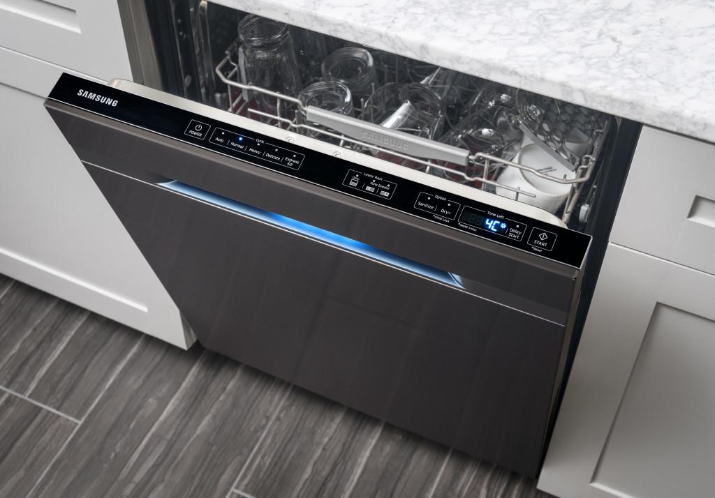 samsung black stainless dishwasher manual