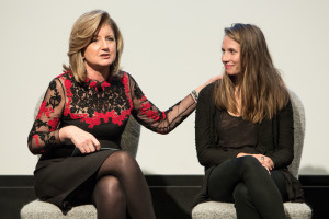 HumanKinda Panel_Arianna Huffington + Bianca Giaever (1)