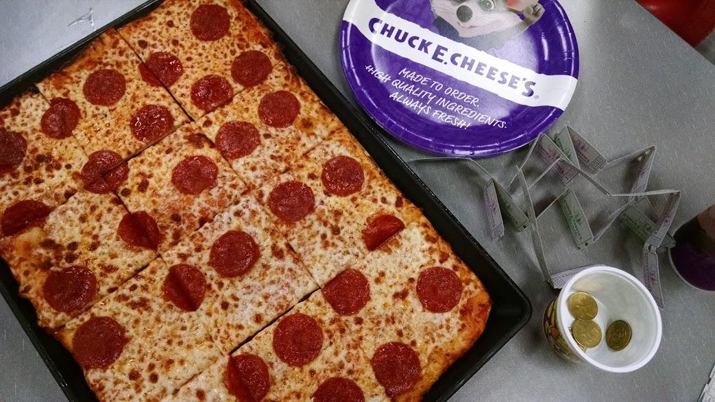 Checking Out New Menu Items at Chuck E. Cheese's