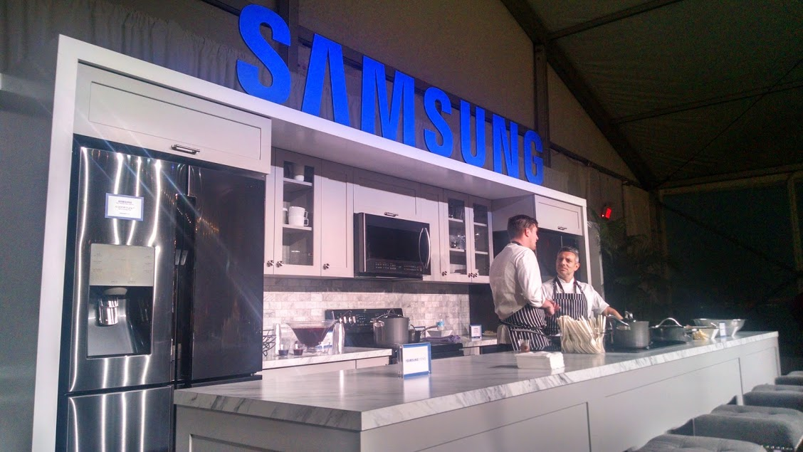 Samsung Reveals New Black Stainless Steel at NYCWFF