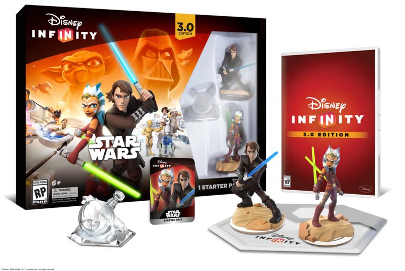 Family Time with Disney Infinity 3.0- Star Wars Starter Pack
