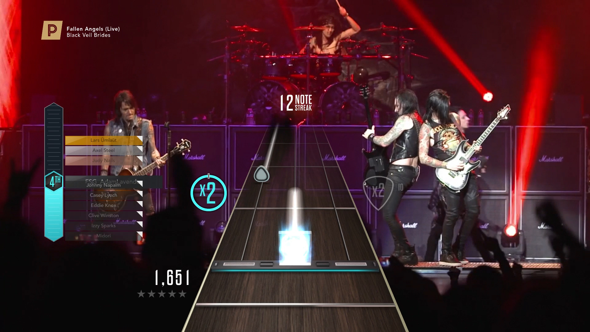Checking out Guitar Hero Live