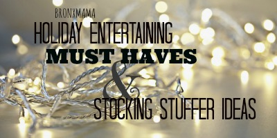 Holiday Entertaining Must Haves + Stocking Stuffer Ideas