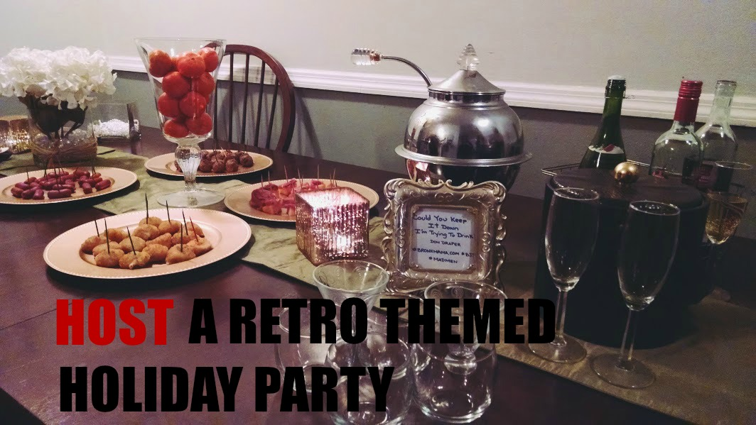 Retro Holiday Party with BJ's Wholesale Club
