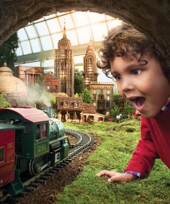 The Holiday Train Show at NYBG: Special Offer + Giveaway