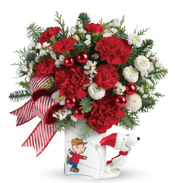 Christmas with the PEANUTS® Gang and Teleflora + Giveaway!