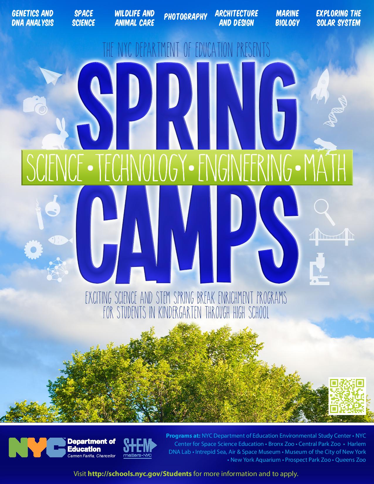 Apply for Free Science and STEM Enrichment Programs during Spring Break