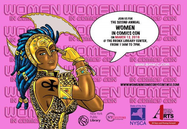 Women in Comics Con