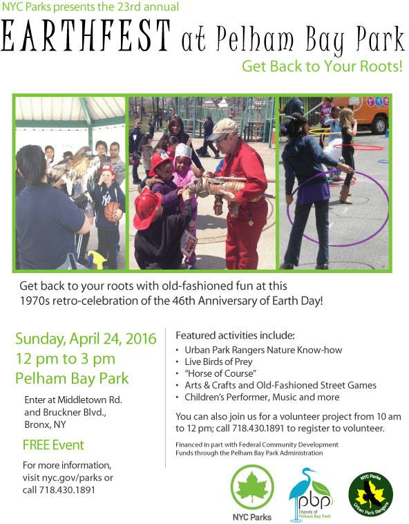 Earthfest at Pelham Bay Park