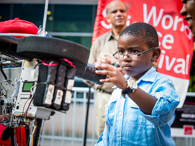 World Science Festival's City of Science Makes First Stop in the Bronx