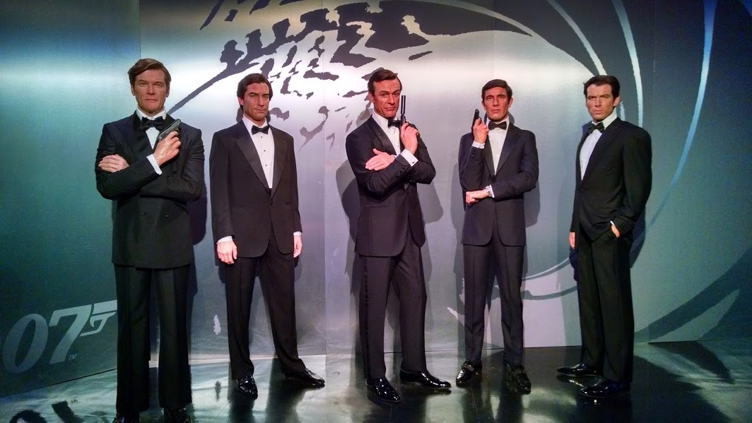 Nearby: See Six James Bond Figures at Madame Tussauds & Enjoy a Martini- Shaken, Not Stirred