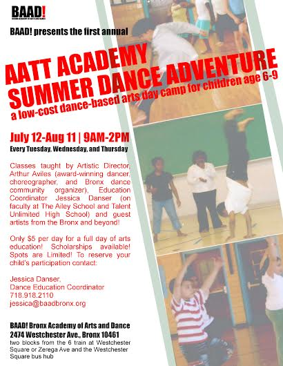 AATT Academy: Summer Dance Adventure