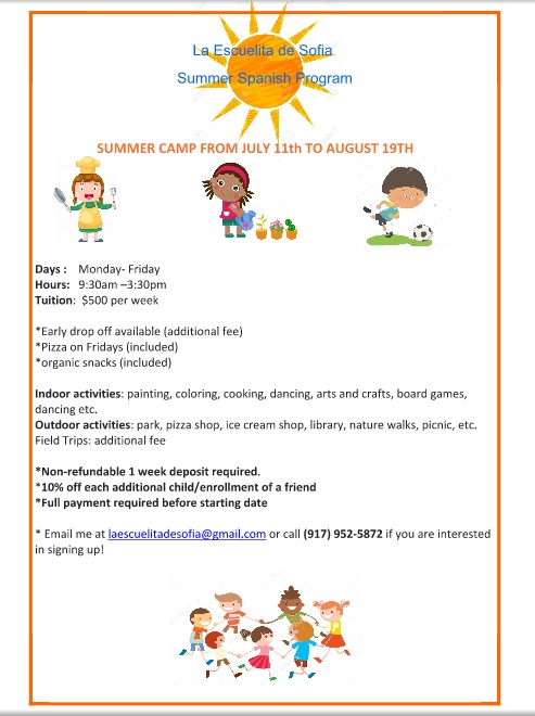 Summer Spanish Program: Summer Camp