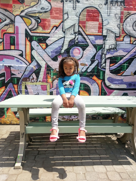 Capturing artwork at The Point, in Hunts Point