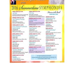 Summertime Symphonies