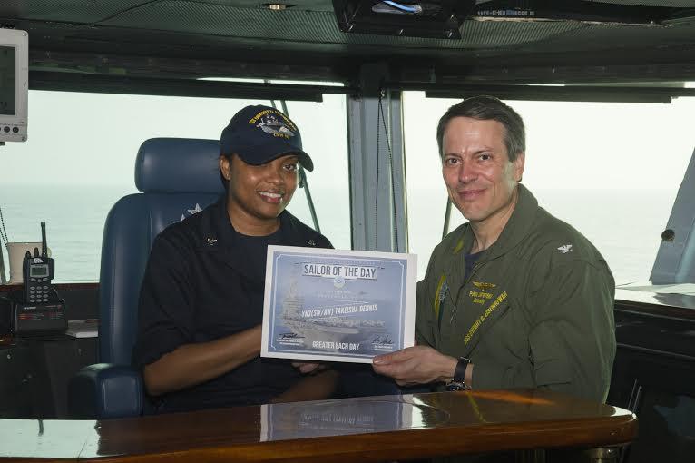 Bronx Sailor earns Sailor of the Day