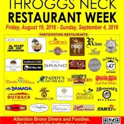 Throggs Neck Summer 2016 Restaurant Week