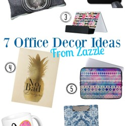 7 Office Decor Ideas from Zazzle